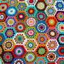 Almofada-hexagonos-em-crochet