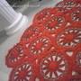 Tapete-vermelho-barroco-tapete-em-croche-para-sala