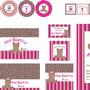 Kit-festa-ursinha-rosa-marrom-pink-kit-festa