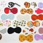 Recortes-em-tecido-para-patchwork-gravatinhas