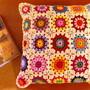 Capa-de-almofada-granny-square-em-croche-vintage