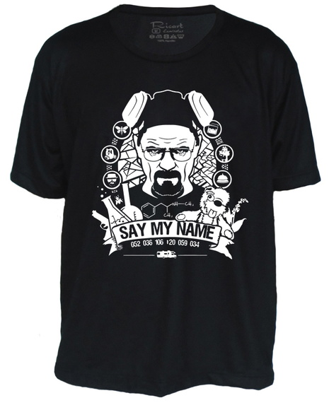 Camiseta Breaking Bad Heisenberg Walter