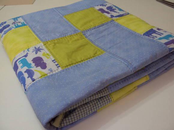 Manta para beb em patchwork retalhomania patchwork elo7 - Como hacer mantas de patchwork ...