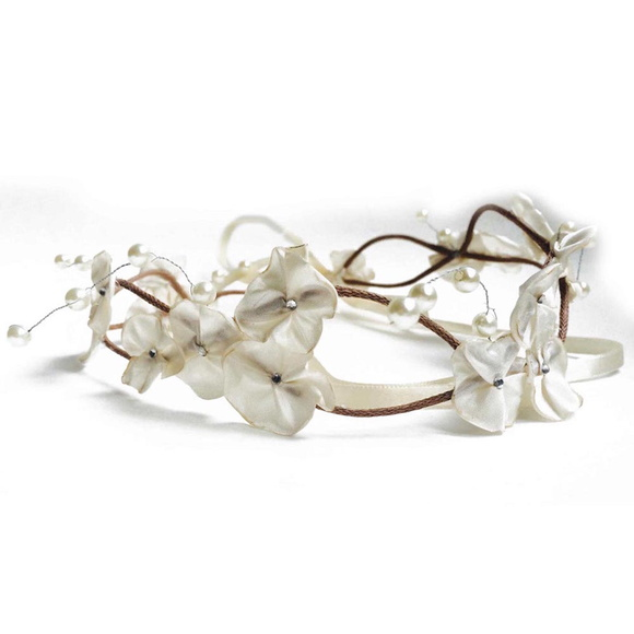 Headband Coroa de Fada Off White