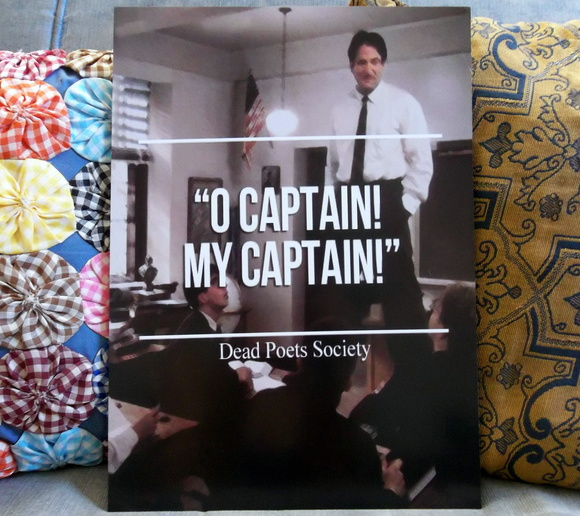 Quadro Decorativo Oh Captain!
