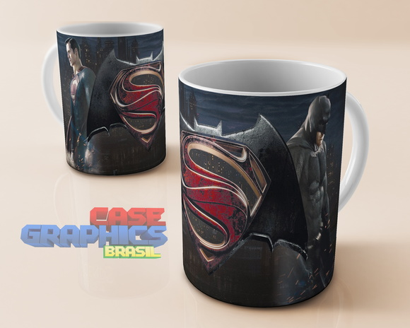 Caneca Batman x Superman Filme