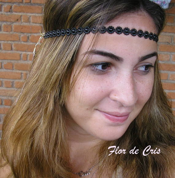 Headband Black Lovers