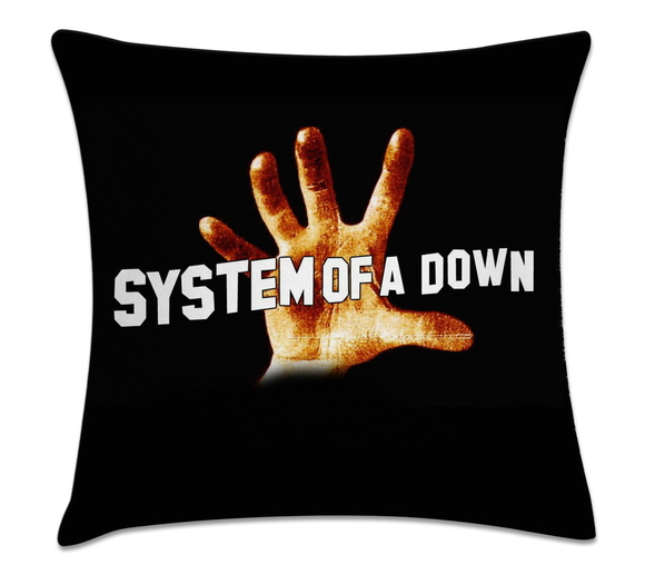 capa de almofada rock Sistem Of a Down