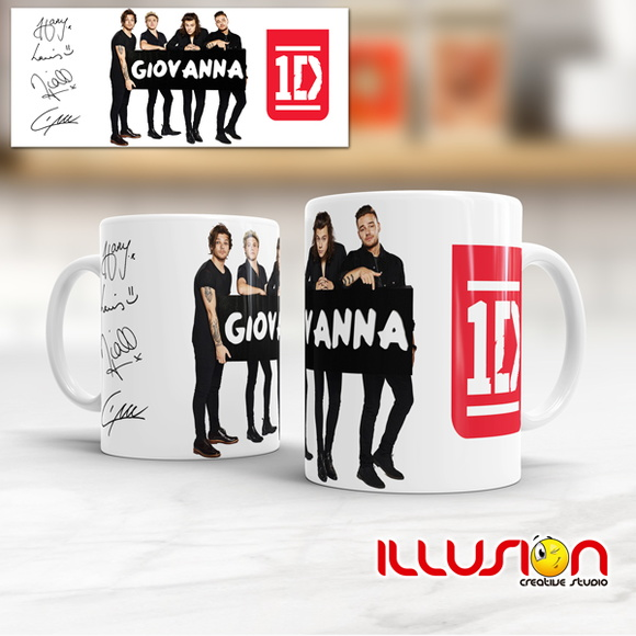 Caneca - One Direction - Mod.: 01