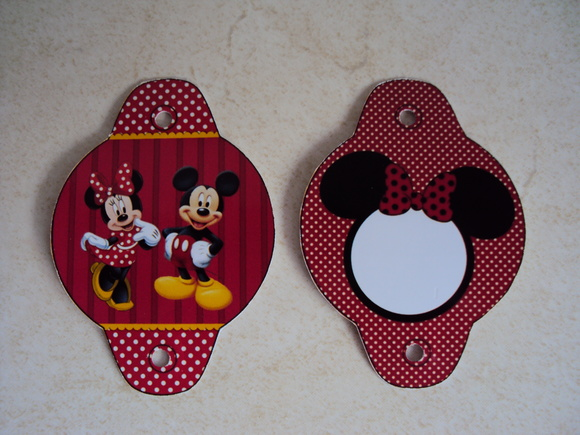 Tag Canudo Minnie 0477
