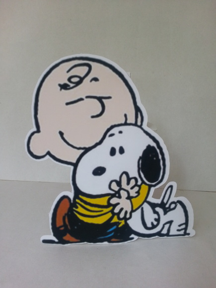 Display Charlie Brown e Snoopy