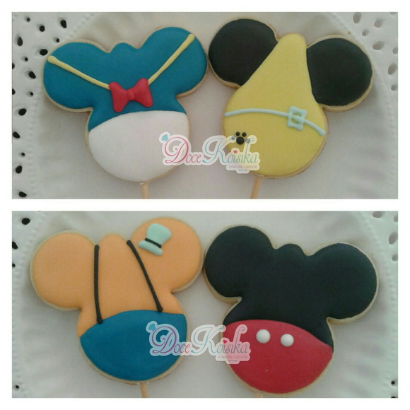 Biscoito Decorado Turma do Mickey