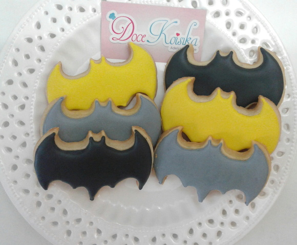 Biscoito Decorado Batman