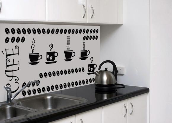 Adesivo De Parede Xicara De Café ~ Adesivo Cozinha Café no Elo7 Adesivos e Decorações AUM (69DCB6)
