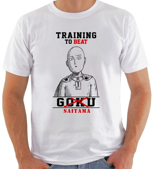 Camiseta Training To Beat Saitama #2
