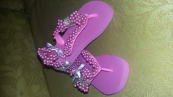 Chinelo decorado infantil