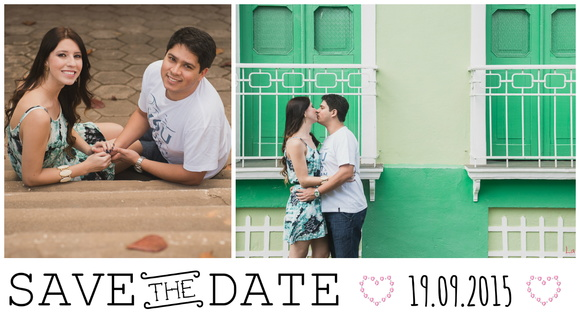 Save the date digital - modelo 1
