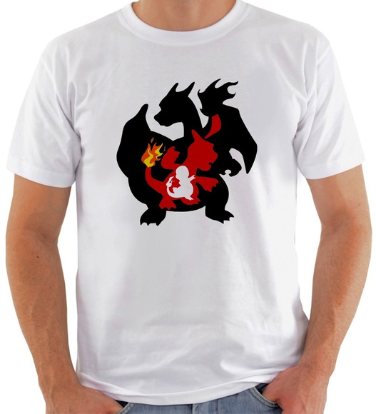 Camiseta Pokemon #1 Charmander