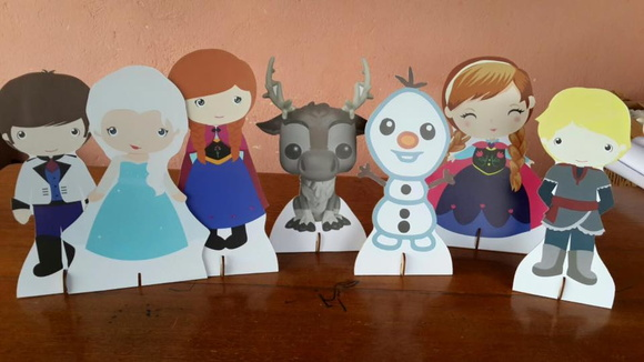 DISPLAY FROZEN CUTE