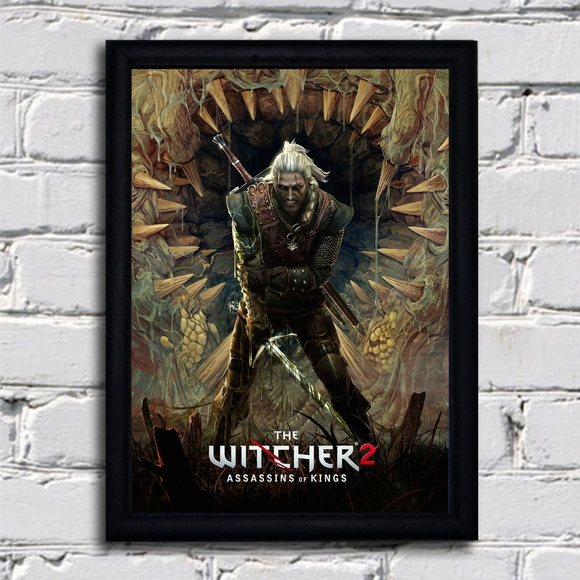 Poster com moldura The Witcher