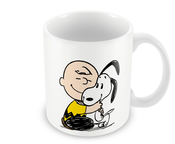 Caneca - Charlie Brown e Snoopy
