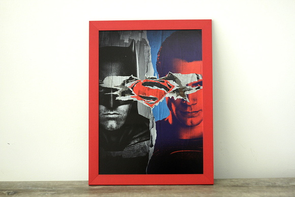 Quadro Batman vs Superman