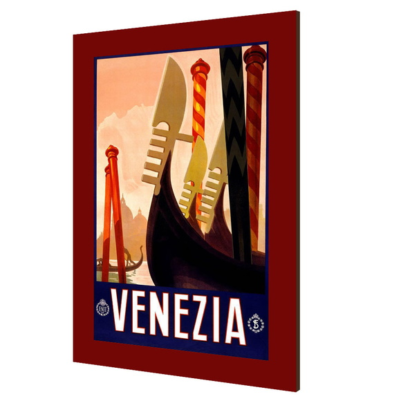 Placa decorativa vintage Venezia