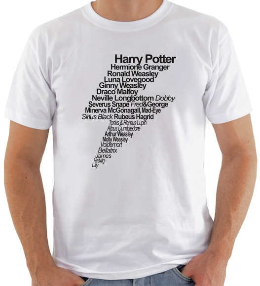 Camiseta Harry Potter #2 Cicatriz