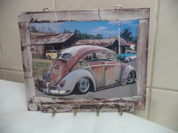 Porta-Chaves 22x18 cms - Fusca
