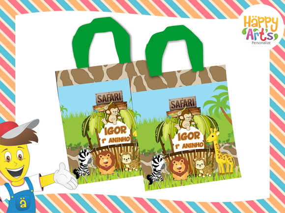 Sacolas Eco Bag Safari
