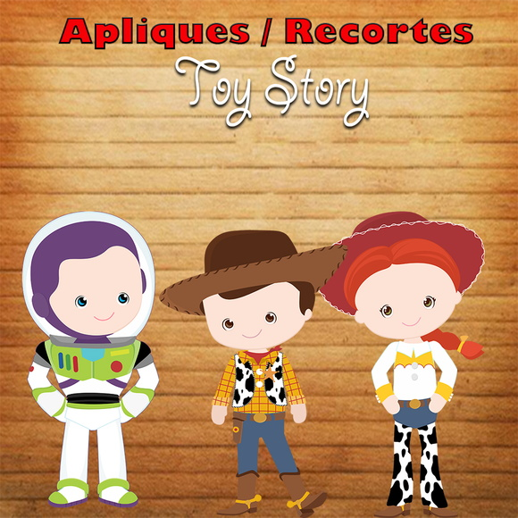 Aplique / Recorte - Toy Story