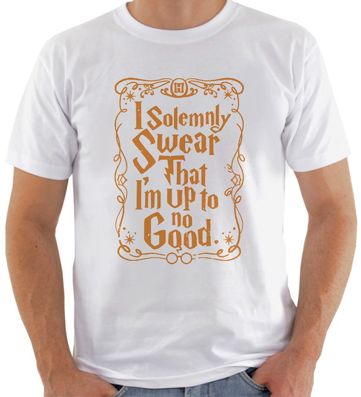 Camiseta Harry Potter #3 I Solemnly