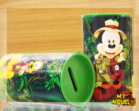 COFRINHO MICKEY SAFARI
