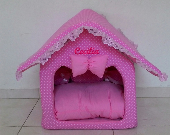 Casinha Pet house + edredom - P