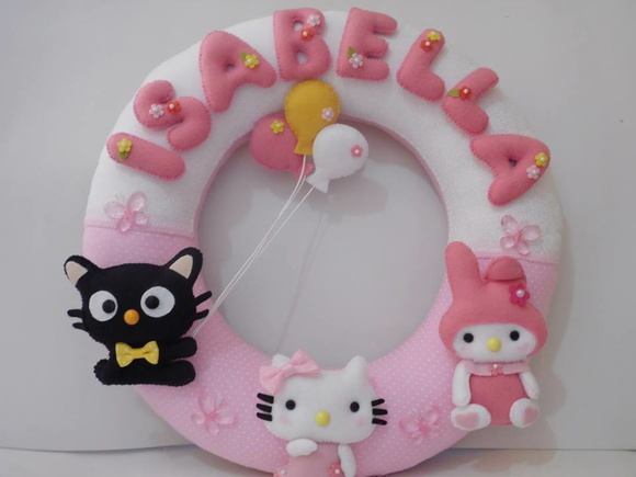 Porta Maternidade Hello Kitty