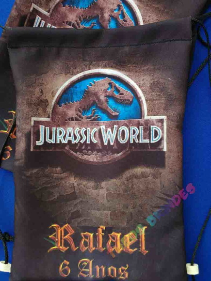 Mochilas 30X40 Jurassic World