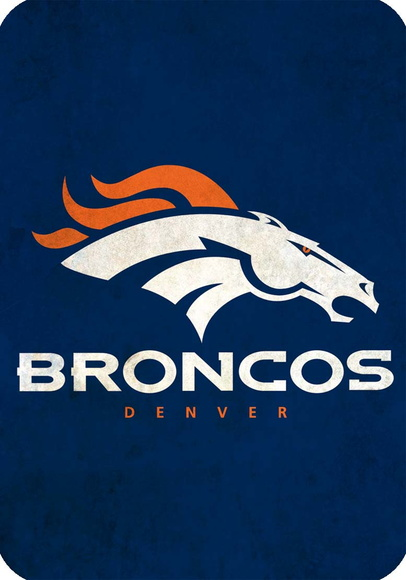 Placa Decorativa NFL - Broncos