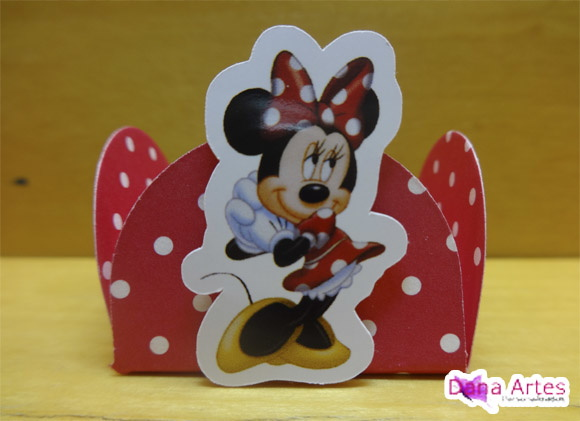 25 Forminhas Minnie