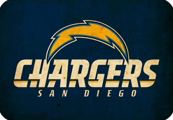 Placa Decorativa NFL - Chargers