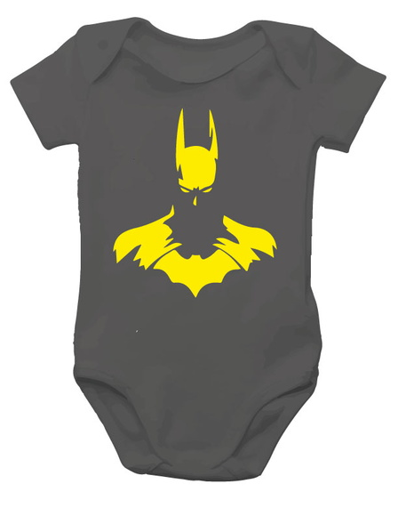 Body de bebe batman - super heróis