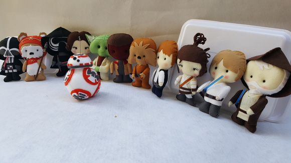 Star Wars Pocket - Turma 12 personagens