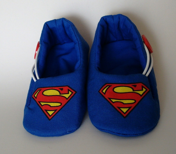 Sapatinho Slipper Superman Tam M