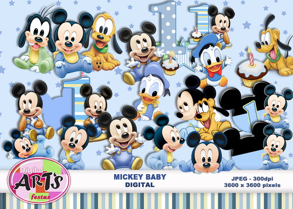 MICKEY BABY - MINI KIT DIGITAL