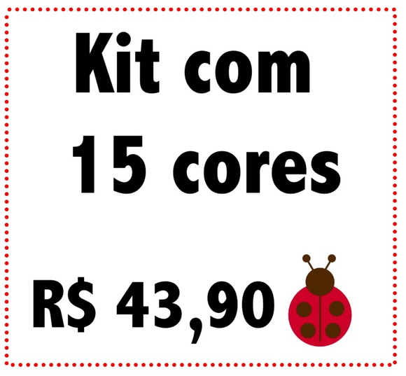 Kit Ilhoses 15 cores