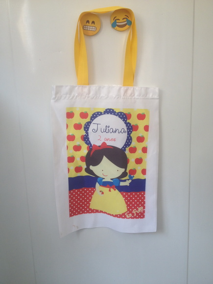 Eco bag Branca de neve cute