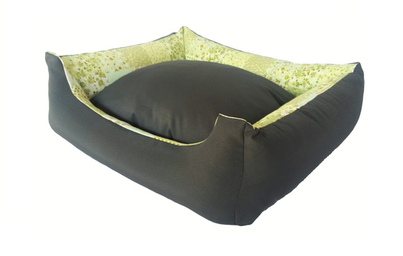 Cama Pet Dupla Face Tam. G ( 75 x 65 )