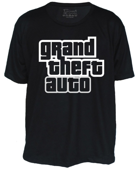 Camiseta GTA Game