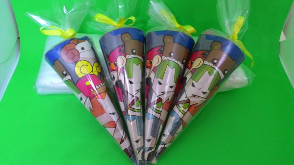 Cone para Doces Castle Crashers