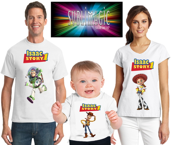 Kit 3 Camisetas Toy Story A2