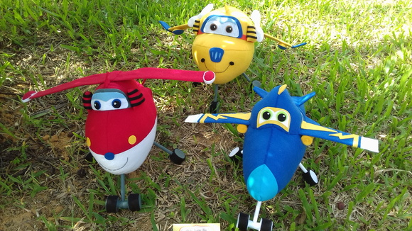 Kit Aviões Super Wings